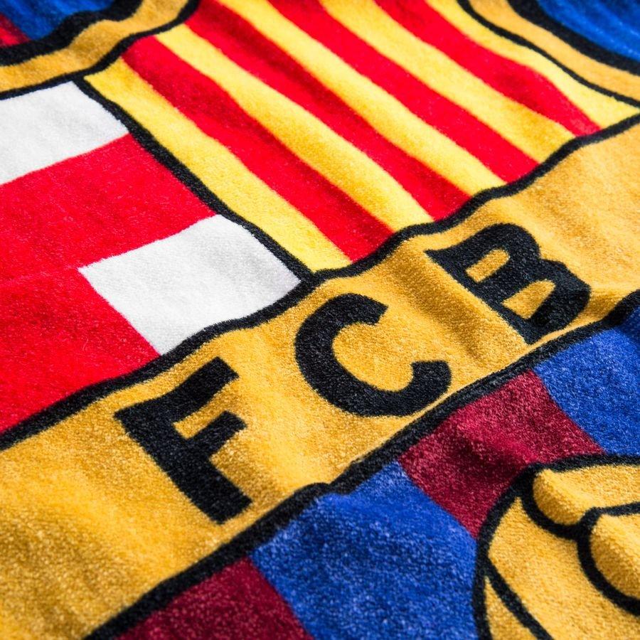 barcelona handduk logo - röd blå - badhandduk b5bf22fdae58a