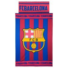 barcelona bedding logo - red/blue - bedding