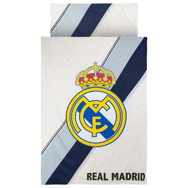 Real Madrid Bettwäsche Logo Weißnavy Wwwunisportstorede