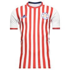 paraguay home shirt 2017/18 - football shirts