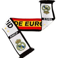 real madrid scarf - white/black - scarves