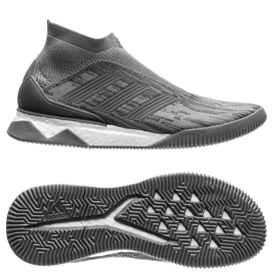 a5242c7b9516c1 adidas predator 18+ trainer boost paul pogba - iron metal - sneakers ...