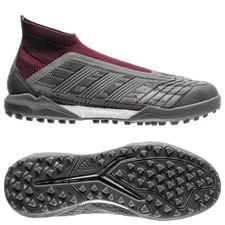 adidas predator 18+ tf paul pogba - iron metal - football boots