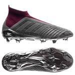 adidas Predator 18+ FG/AG Paul Pogba - Silber