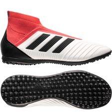 adidas predator tango 18+ tf cold blooded - hvid/sort/rød børn - fodboldstøvler