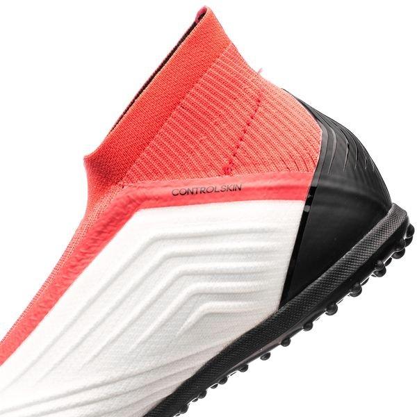 adidas Predator Tango 18+ TF Cold Blooded WeißSchwarzRot