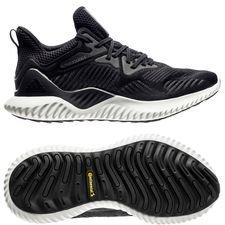adidas løbesko alphabounce beyond - sort/grå - løbesko