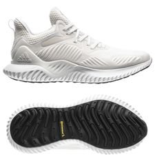 adidas running shoe alphabounce beyond - footwear white/silver metallic woman - running shoes