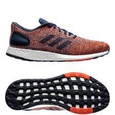 Image of   adidas Pure Boost DPR - Navy/Orange