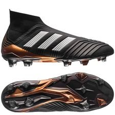 adidas Predator 18+ FG/AG Skystalker - Core Black/Footwear White/Metallic Gold