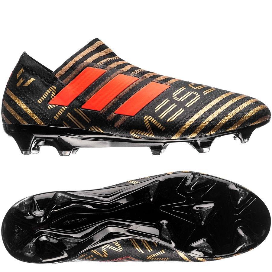 Adidas Messi Nemeziz 17+ Fg / Ag Skystalker - Enfants Noir / Rouge / Or 7aTuf4qA55