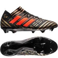 adidas Nemeziz Messi 17.1 FG/AG Skystalker - Zwart/Rood/Goud
