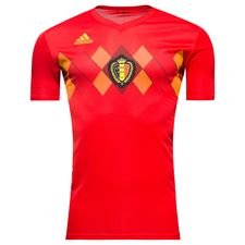 belgium home shirt world cup 2018 kids - football shirts