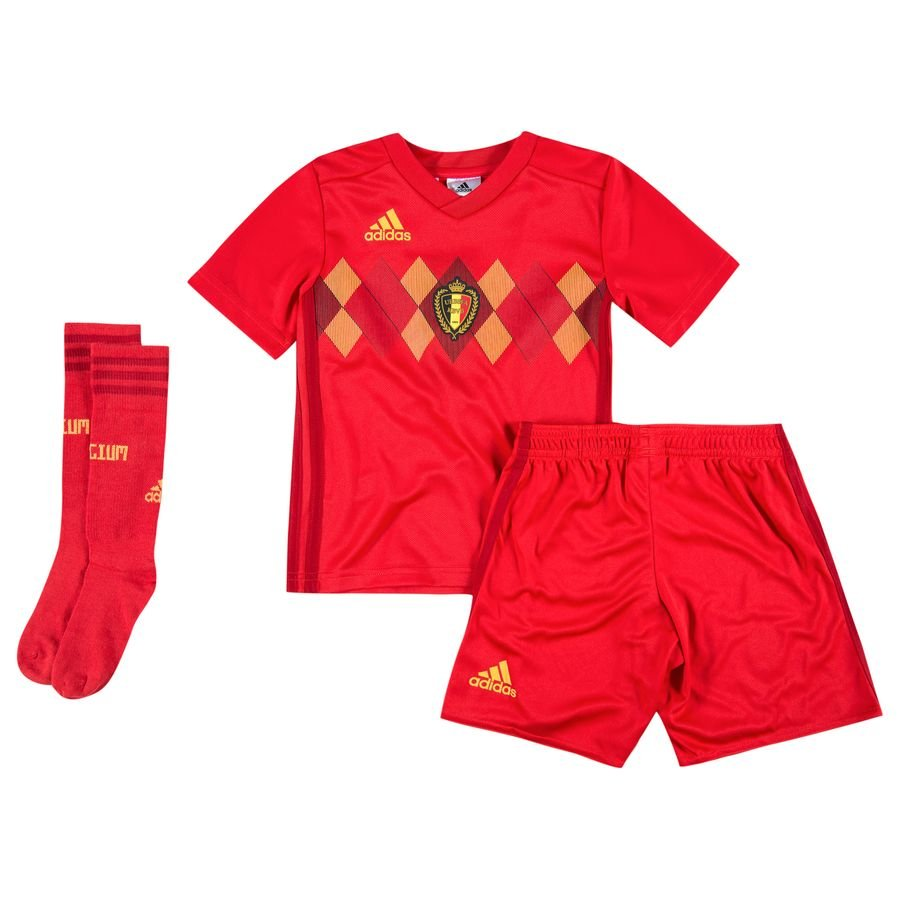 273eda4c9 belgium home shirt world cup 2018 mini-kit kids - football shirts ...