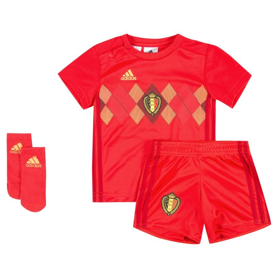 belgium home shirt world cup 2018 baby-kit kids - football shirts ... 37ed74fa6