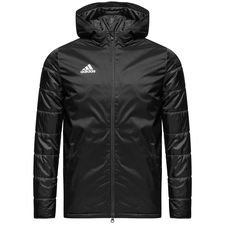 adidas winter jacket condivo 18 - black/white kids - jackets
