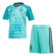 spanien målmandstrøje vm 2018 mini-kit børn - fodboldtrøjer