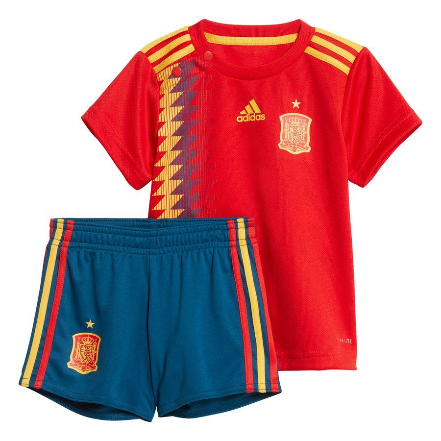 spain home shirt world cup 2018 baby-kit kids - football shirts ... de9dcb72f