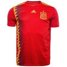 spanien hjemmebanetrøje 2018/19 børn - fodboldtrøjer