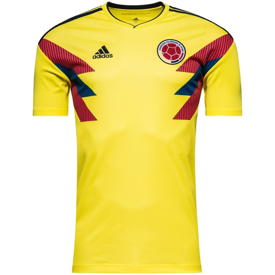 108d03085 colombia home shirt world cup 2018 kids - football shirts ...