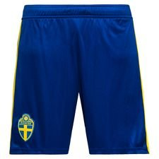 sweden home shorts world cup 2018 kids - football shorts