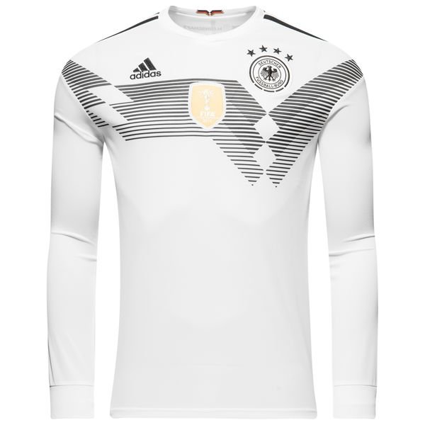 Allemagne maillot domicile coupe du monde 2018 manches - Maillot allemagne coupe du monde 2014 ...