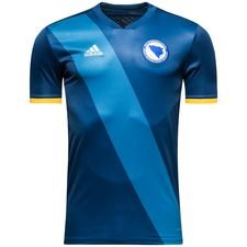 bosnia-herzegovina home shirt 2017/18 - football shirts