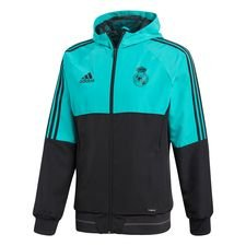 real madrid jacket presentation - aero reef/black kids - jackets