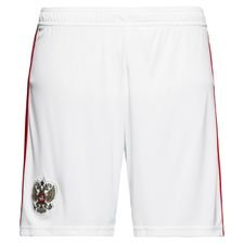 russia home shorts world cup 2018 kids - football shorts