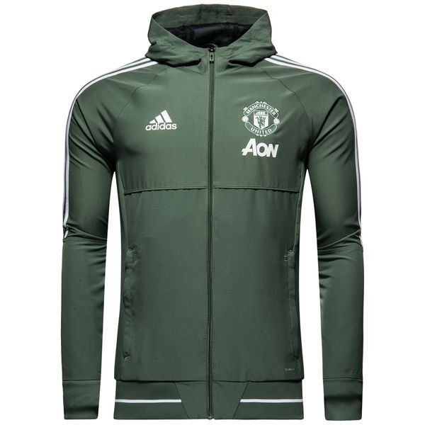 Adidas Manchester United Presentation Jacket Trace Green