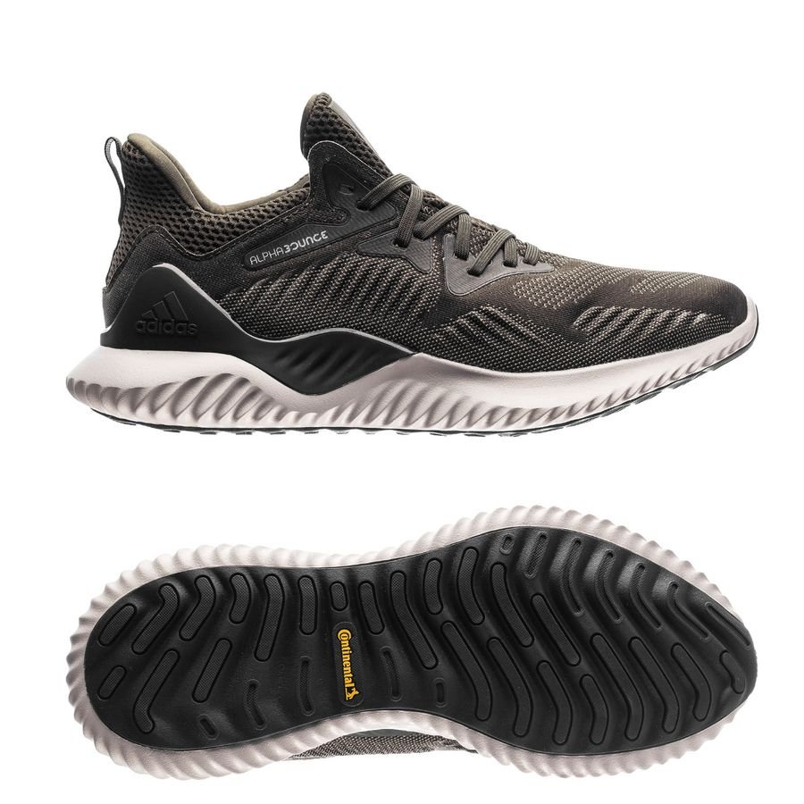adidas running shoe alphabounce beyond  night cargo core black  running  shoes