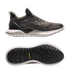adidas løbesko alphabounce beyond - grøn/sort - løbesko