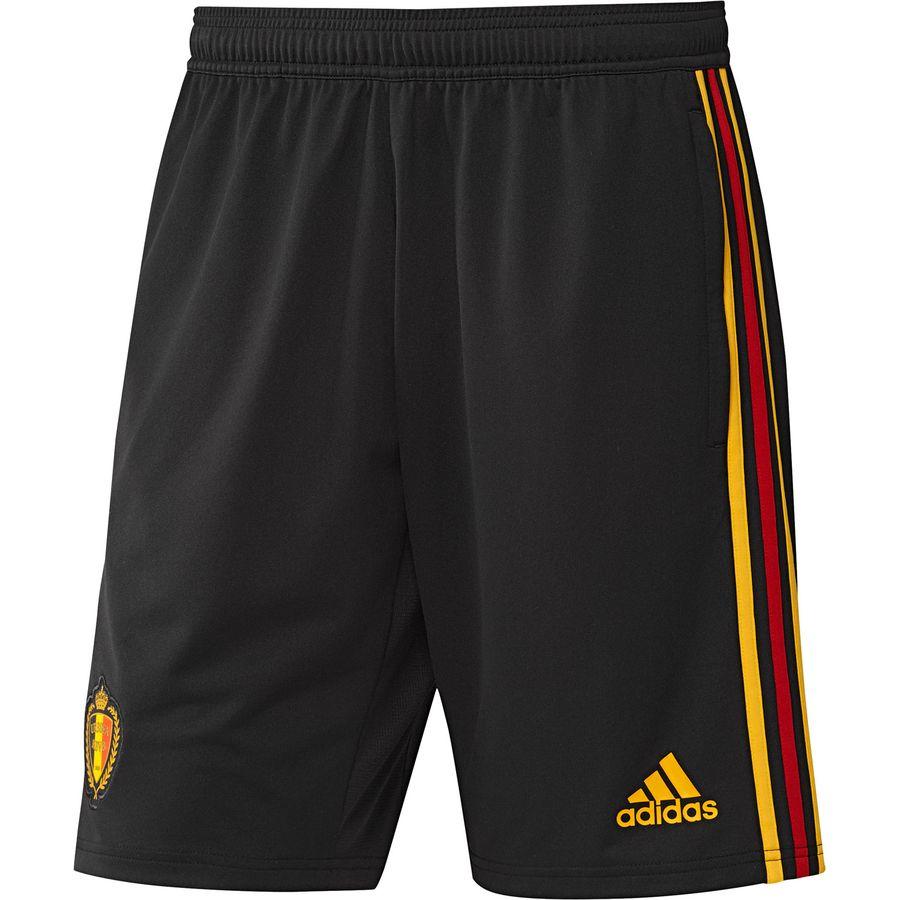 adidas Belgium Training Shorts - Black/Bold Gold Kids Image