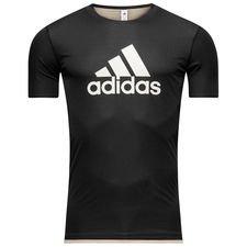 Image of   adidas Trænings T-Shirt Tango Vendbar Skystalker - Sort/Guld