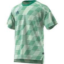 adidas trænings t-shirt tango graphic - grøn/hvid - træningstrøjer