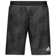 adidas training shorts tango graphic woven skystalker - black - training shorts