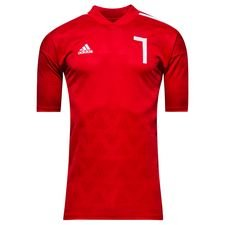 adidas training t-shirt tango icon - red/white - training tops