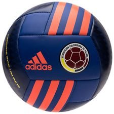 colombia football - black/bold blue/solar red - footballs