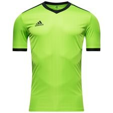 adidas playershirt tabela 18 - semi solar green/black - football shirts