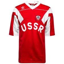 Trøjen er lavet i et sporty look i ruslands farver, og er designet med det originale logo