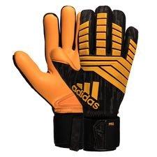 adidas målmandshandske predator lev yashin - grå/sort/orange - målmandshandsker