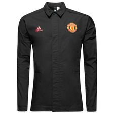 manchester united jacket z.n.e. woven - black - jackets