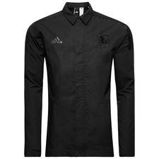 argentina jakke z.n.e. woven - sort - træningsjakke