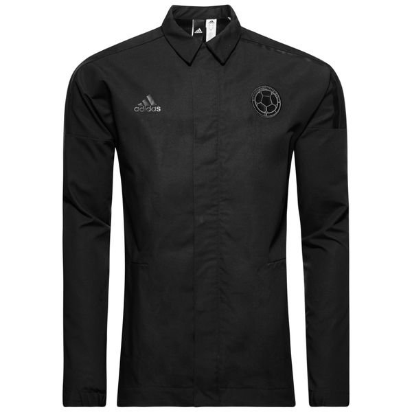 colombia jakke z.n.e. woven - sort - træningsjakke