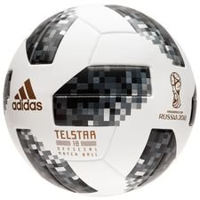 Image of   adidas Fodbold VM 2018 Telstar 18 Kampbold - Hvid/Sort/Sølv
