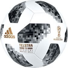 adidas Fotboll VM 2018 Telstar 18 Matchboll - Vit/Svart/Silver