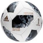 adidas Fodbold VM 2018 Telstar 18 Competition - Hvid/Sort/Sølv