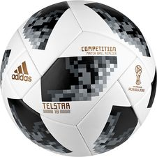 adidas Football World Cup 2018 Telstar 18 Competition - White/Black/Silver Metallic PRE-ORDER
