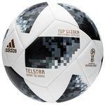 adidas Fodbold VM 2018 Telstar 18 Top Glider - Hvid/Sort/Sølv