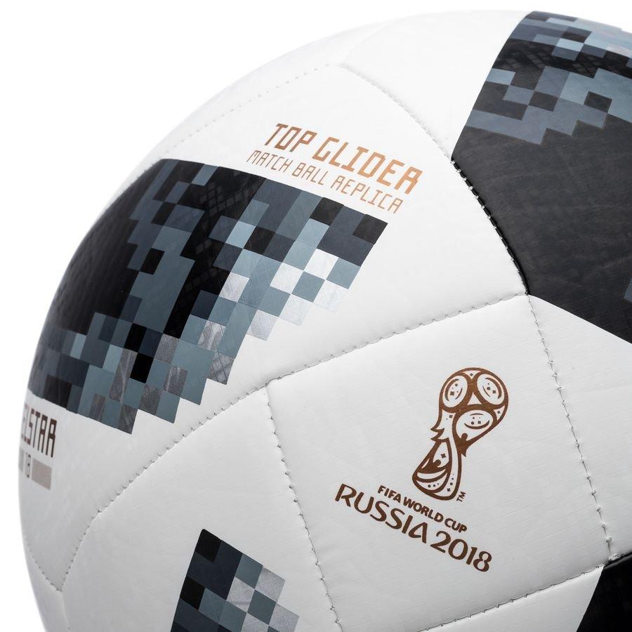 16d0fffa1 adidas Football World Cup 2018 Telstar 18 Top Glider - White/Black/Silver  Metallic | www.unisportstore.com
